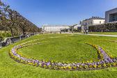 Baroque Mirabell Garden — Stock Photo
