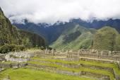 Beautiful hidden city Machu Picchu in Peru — Stock Photo