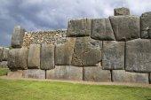 Sacsayhuaman walls, ancient inca fortress near Cuzco, Peru — Fotografia Stock