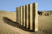 マーリブ付近月寺の 5 つの柱 — ストック写真