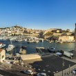 ������, ������: View of Marseille to the old roman harbor building and skyline