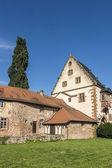 Old castle in medieval city of Buedingen — Stock Photo