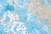 Blue grunge painted wall — Stock Photo