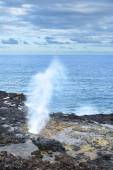 Spouting Horn Hawaii — Stock Photo