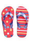 Pair of flip flop sandals — Stock Photo