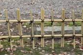 Bamboo fence — Stock Photo