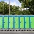 Portable toilets — Stock Photo #56036305