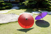 Japanese traditional umbrella — Stock Photo