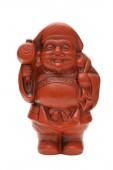 Statuette of Japanese daikoku god — Stock Photo