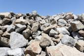 Gray mound quarry — Stock Photo