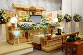 Funeral home — Stock Photo
