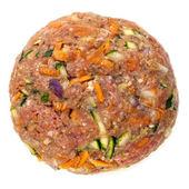 Healthy Hamburger Patty Isolated — Stock Photo