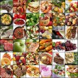 Big Food Collage — Stock Photo #64949033
