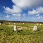 Merry Maidens Neolithic Stone Circle Cornwall England — Stock Photo #67414493