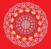 Classic Oriental Pattern — Vector de stock