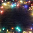 Frame of Christmas lights — Stock Photo #55689465