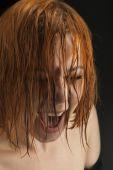 Beauty girl cry — Stock Photo