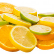 Lime, Lemon And Orange Layer Slices — Stock Photo #52368667