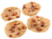 Malaysian Javanese Peanut Cracker — Stock Photo