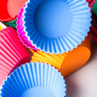 Silicone cupcake baking cups — Stock Photo #60606745