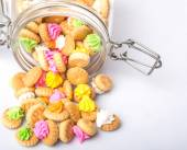 Navel Iced Gem koekjes — Stockfoto