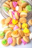 Belly Button Iced Gem Biscuits — ストック写真