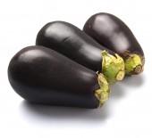 Black Skinned Eggplant — Stock Photo