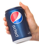 Holding Pepsi Drink — Stock Photo