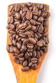 Gebrande koffiebonen — Stockfoto