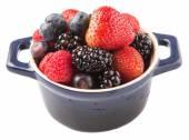 Strawberry, Blackberry, Blueberry And Raspberry — Stock Photo
