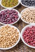 Beans And Legume Variety — Stock Photo