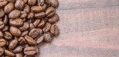 Grãos de café torrados — Fotografia Stock