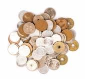 Japanese Yen Coins — Stock Photo
