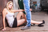 Sexy Jeans — Stock Photo