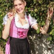 Pretty young woman in a Bavarian dirndl — Stock Photo #59952793