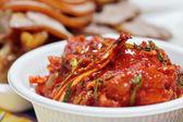 Kimchi (fermented cabbage), Korean Traditional Dish — Stock Photo