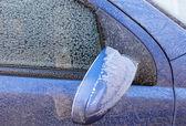 Frozen car surface — Stock Photo