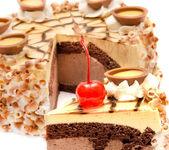 Chocolate cake — Foto de Stock