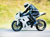 Motorcyclist — Stockfoto