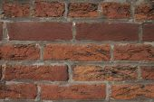 Dirty clay bricks with carbon deposits — Stock Photo
