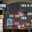 A funny day at Internet Cafe (Nighttime) — Stock Photo #65705945
