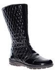 Zwarte boot — Stockfoto