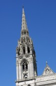 Cathedrale spire — Stock Photo