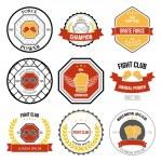 Martial Arts labels — Stock Vector #58941085