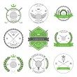 Golf labels and icons — Stock Vector #58941093