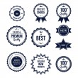 Best choice labels — Stock Vector #58941341