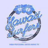 Hawaii surfers. — Vecteur