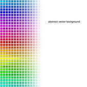Abstract squares equalizer background. Vector — Stockvector