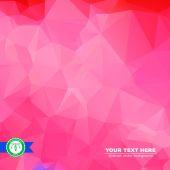 Abstract kleurrijke driehoeken achtergrond. vector — Stockvector