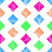 Abstract Colorful Squares Seamless Pattern. Vector — Stock Vector